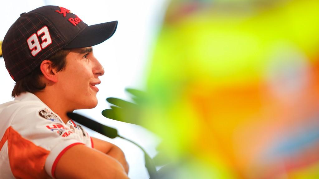 Marquez, Repsol Honda Team, GP Aperol di San Marino e della Riviera di Rimini, Press Conference