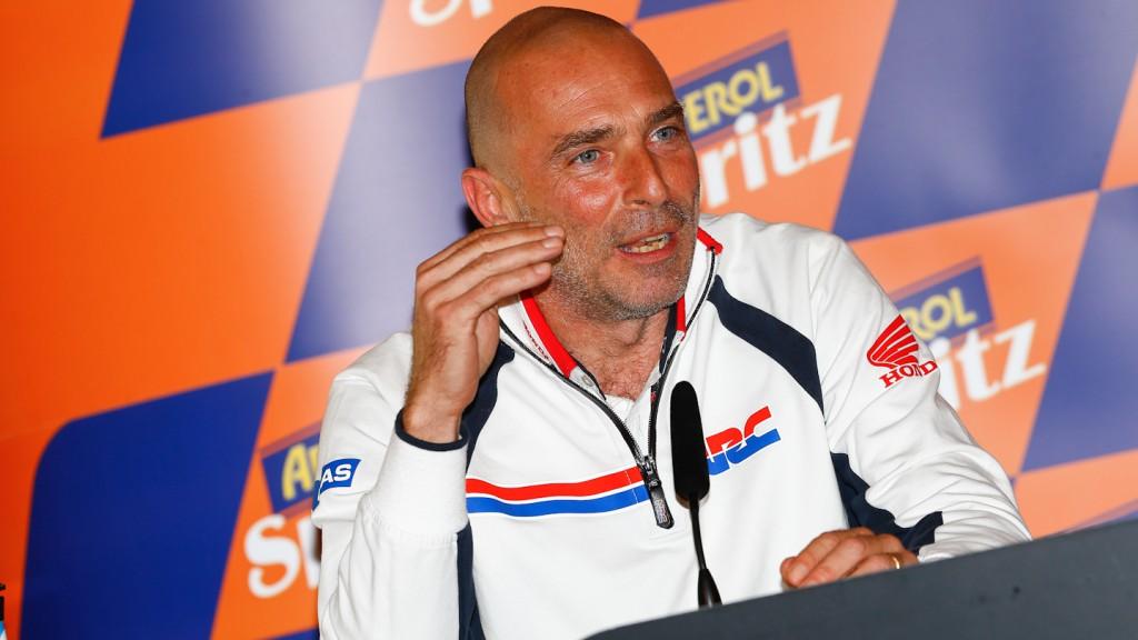 Livio Suppo, Repsol Honda Team, Team Principal, GP Aperol di San Marino e della Riviera di Rimini Press Conference