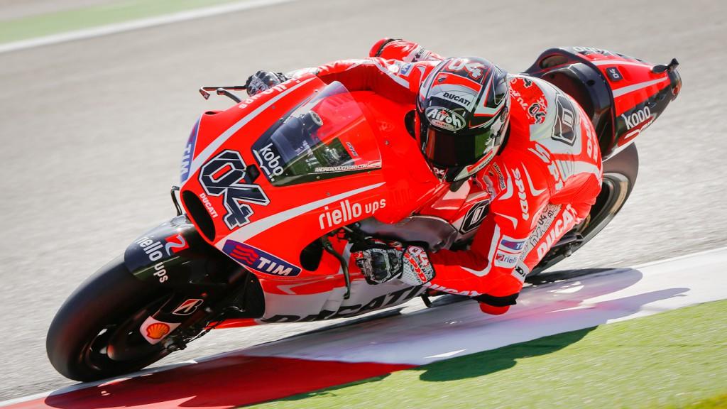 Andrea Dovizioso, Ducati Team, Misano FP2