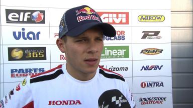 Bradl escapes from 'unnecessary' Turn 6 crash