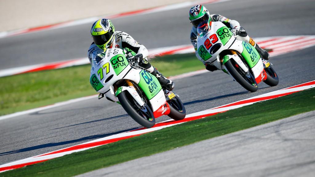 Lorenzo Baldassarri, Niccoló Antonelli, GO&FUN Gresini Moto3, Misano FP2