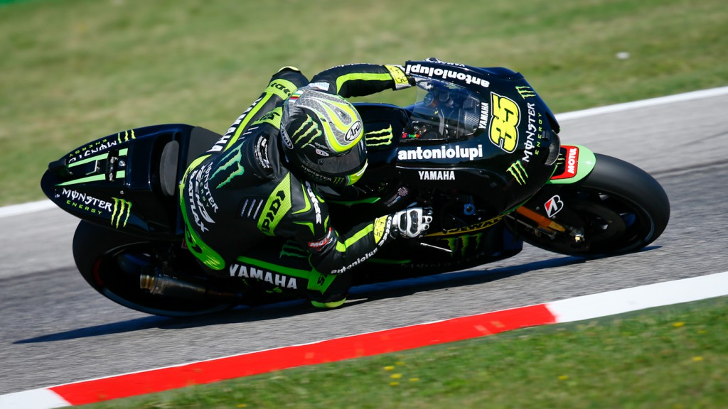 Cal Crutchlow, Monster Yamaha Tech 3, Misano FP2