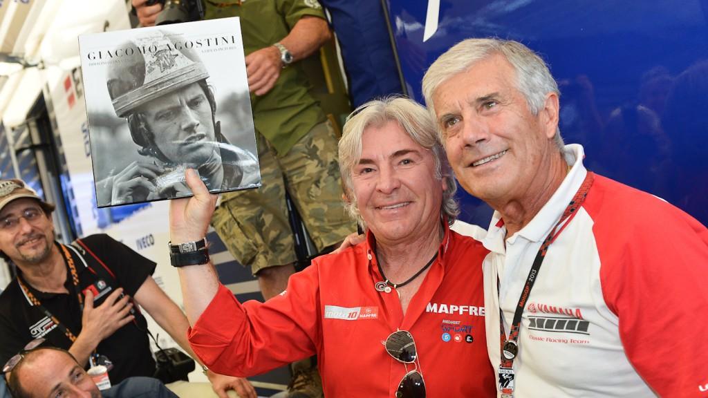 MotoGP Legends Angel Nieto Giacomo Agostini, Misano