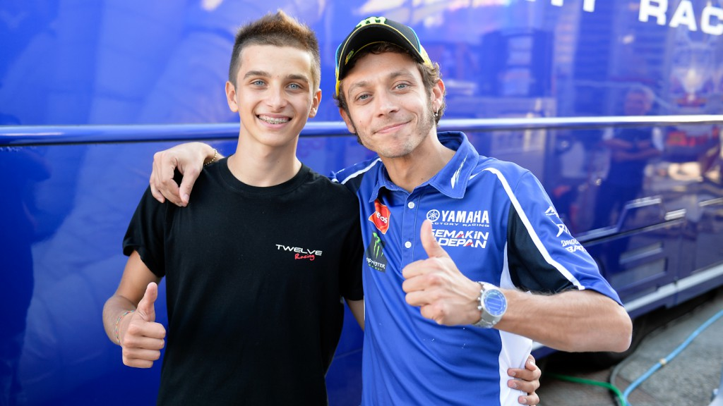 Luca Marini, Valentino Rossi, Misano