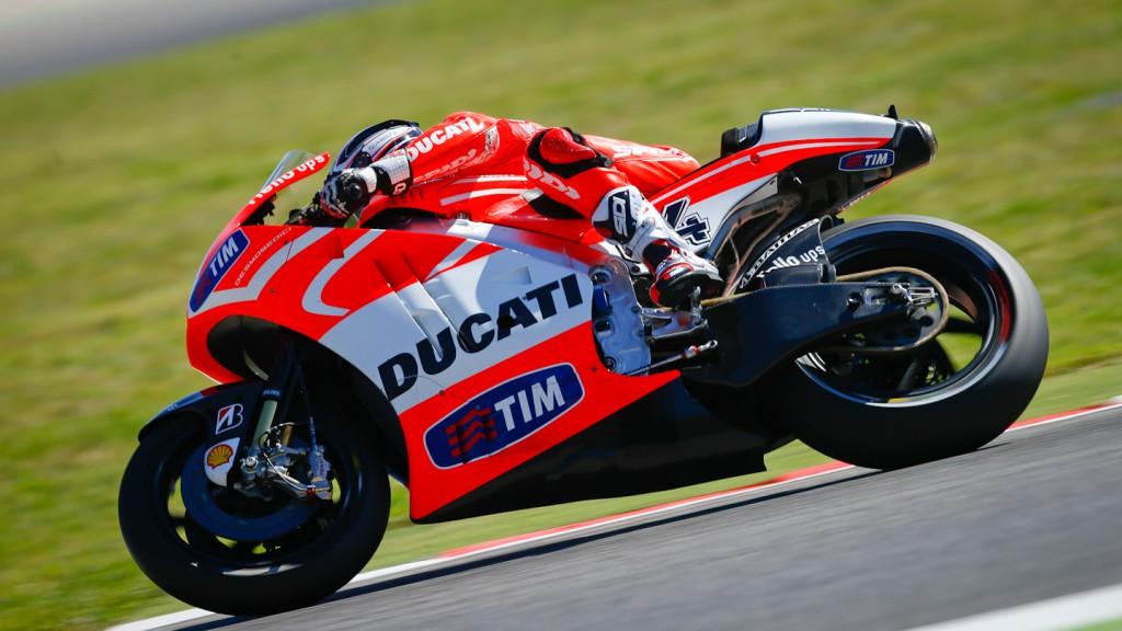 Andrea Dovizioso, Ducati Team, Misano Q2