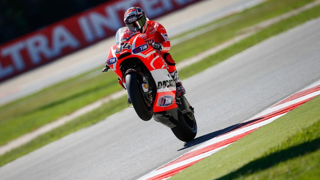 Ndrea Dovizioso, Ducati Team, Misano Q2