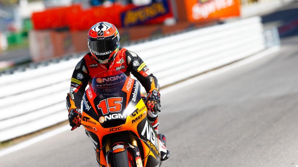 Alex de Angelis, NGM Mobile Racing, Misano QP