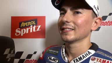 Misano Qualifying: Second position - Jorge Lorenzo