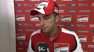 Dovizioso believes second row slot was possible