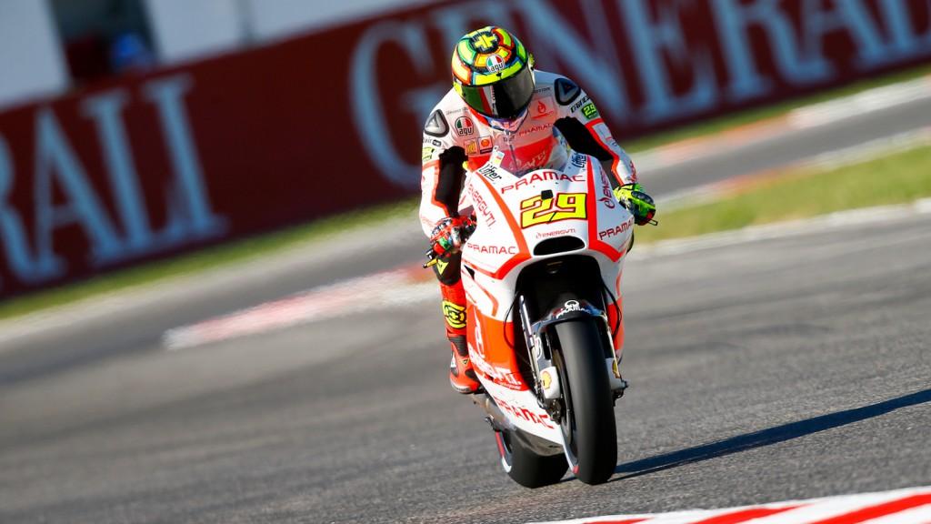 Andrea Iannone, Pramac Racing Team, Misano Q2