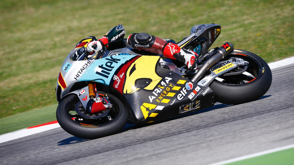 Scott Redding, Marc VDS Racing Team, Misano QP