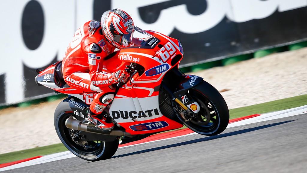 Nicky Hayden, Ducato Team, Misano Q2