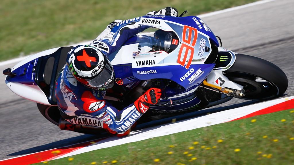 Jorge Lorenzo, Yamaha Factory Racing, Misano FP3