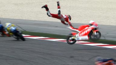 Misano 2013 - Moto3 - RACE - Action - Jonas Folger - Crash