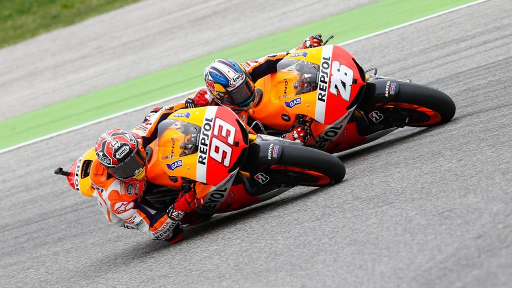 Marquez, Pedrosa, Repsol Honda Team, Misano RAC