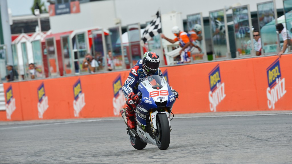 Jorge Lorenzo, Yamaha Factory Racing, Misano RAC