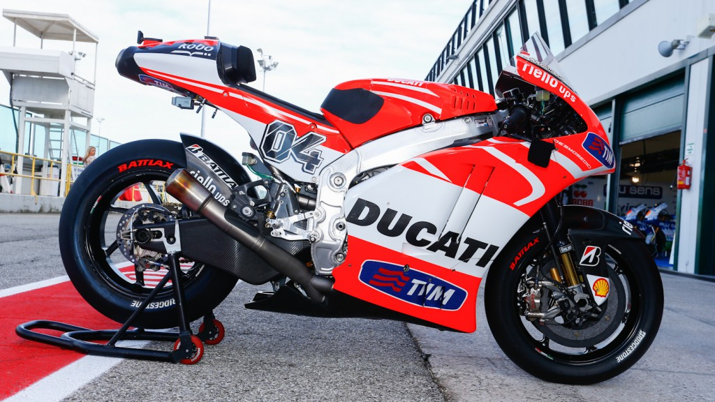 Dovizioso Bike, Ducati Team, Misano Test