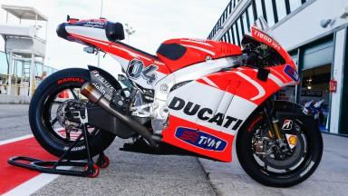 Dovizioso Bike, Ducati Team, Misano Test