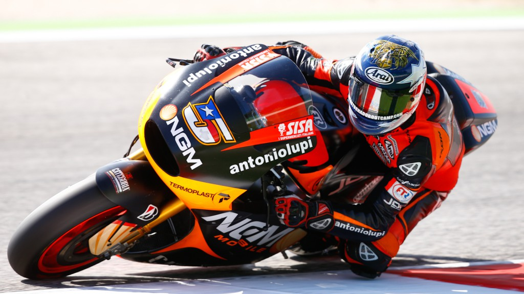 Colin Edwards, NGM Mobile Forward Racing, Misano Test