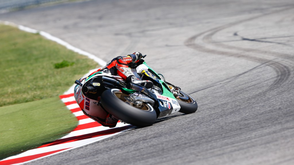 Stefan Bradl, LCR Honda MotoGP, Misano Test