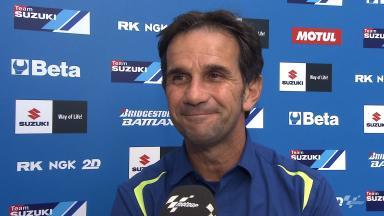 Davide Brivio on Suzuki's latest developments
