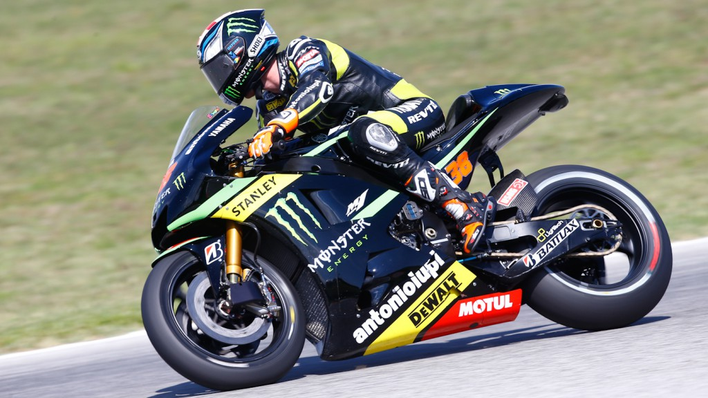 Bradley Smith, Monster Yamaha Tech 3, Misano Test