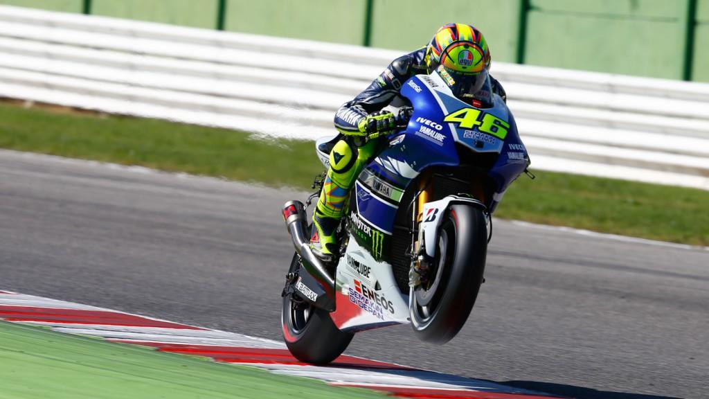 Valentino Rossi, Yamaha Factory Racing, Misano Test