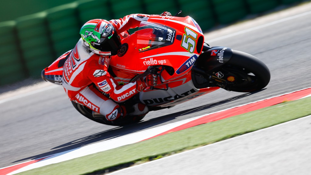 Michele Pirro, Ducati Team, Misano Test