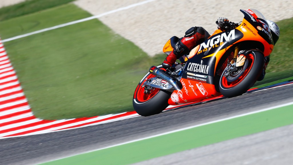 Claudio Corti, NGM Mobile Forward Racing, Misano Test
