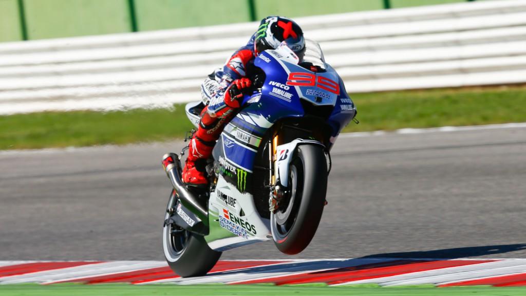 Jorge Lorenzo, Yamaha Factory Racing, Misano Test