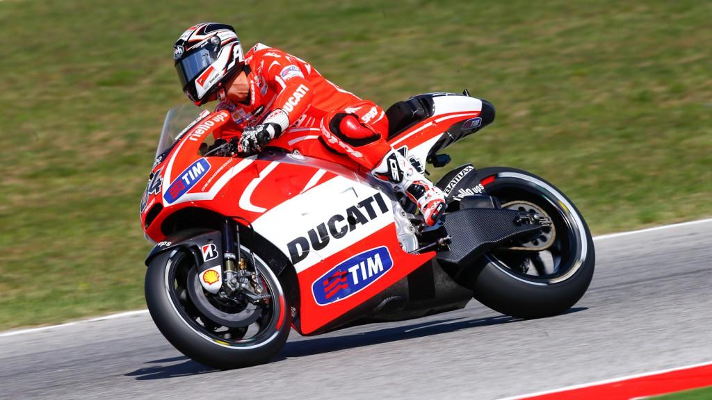 Andrea Dovizioso, Duati Team, Misano Test