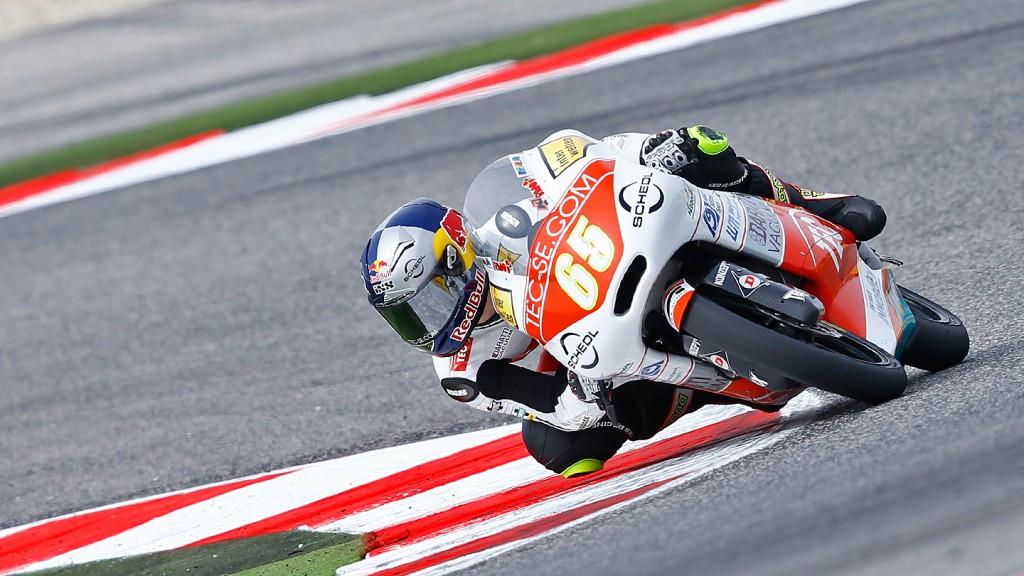 Philipp Oettl, Tec Interwetten Moto3 Racing, Misano RAC