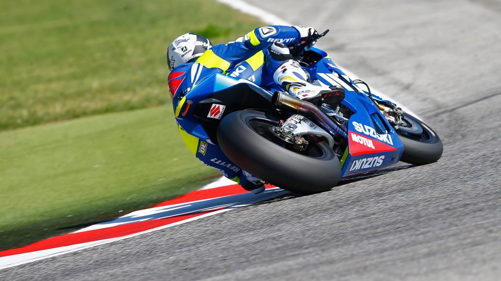 Randy De Puniet, Suzuki MotoGP, Misano Test