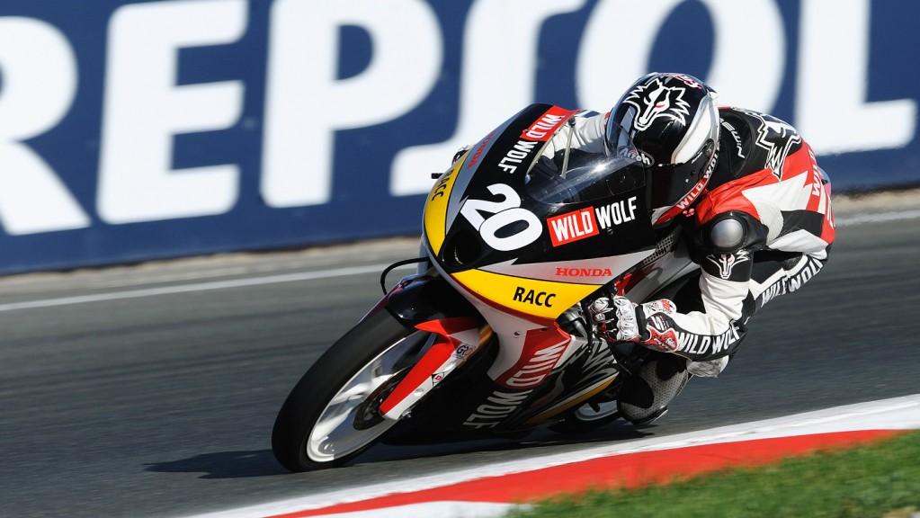 Fabio Quartararo, Wild Wolf Racing, CEV Navarra QP