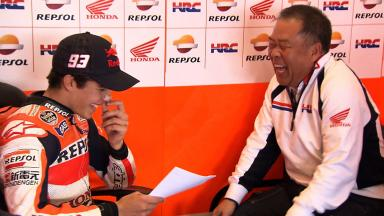 Feature interview with Marc Marquez