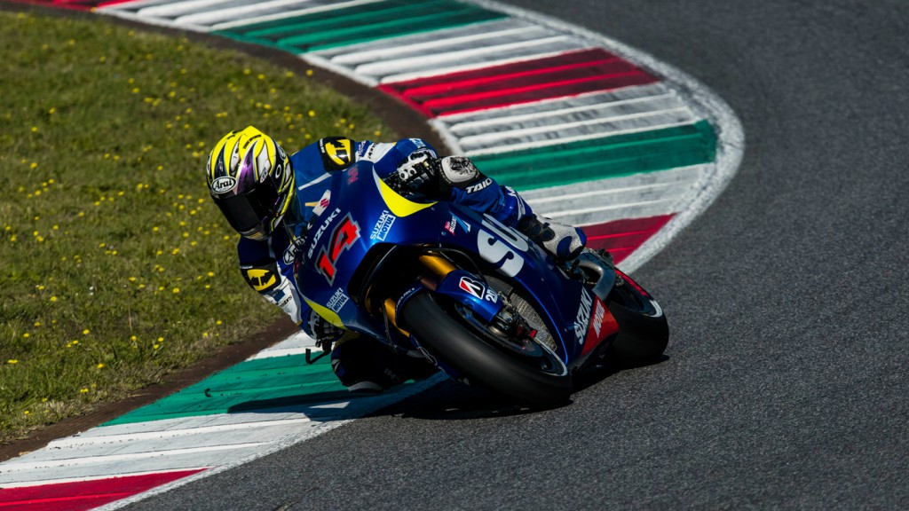 Nobu Aoki, Suzuki MotoGP™ September Mugello Test