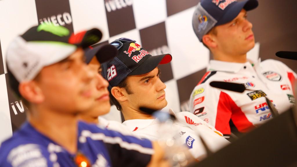 Gran Premio Iveco de Aragón Press Conference