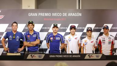 What They're Saying: Aragón's Thursday press conference