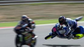 Aragon 2013 - Moto3 - FP2 - Action - Luca Amato - crash
