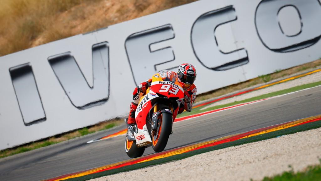 Marc Marquez, Repsol Honda Team, Aragón FP2