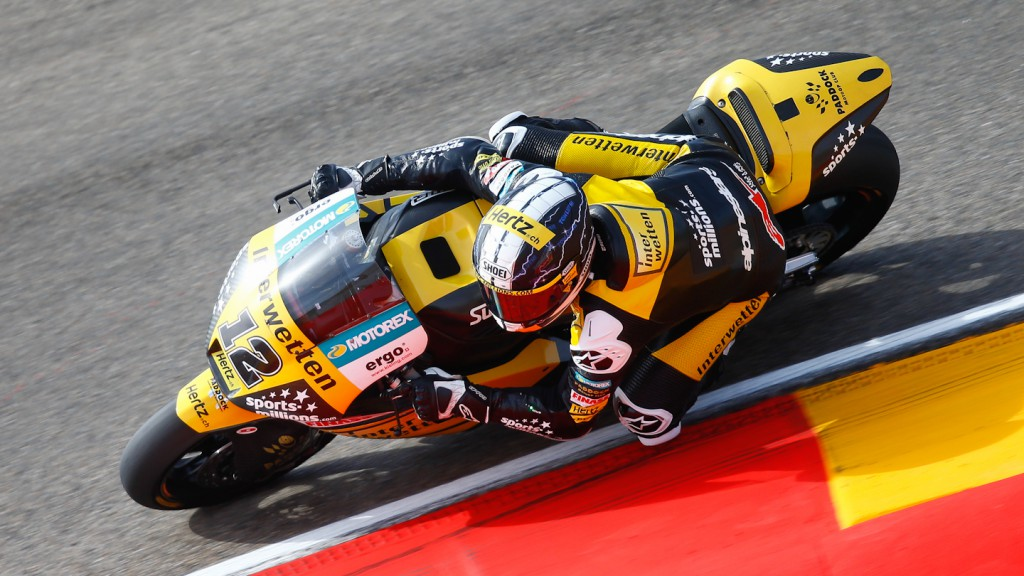 Thomas Luthi, Interwetten Paddock Moto2 Racing, Aragón FP3