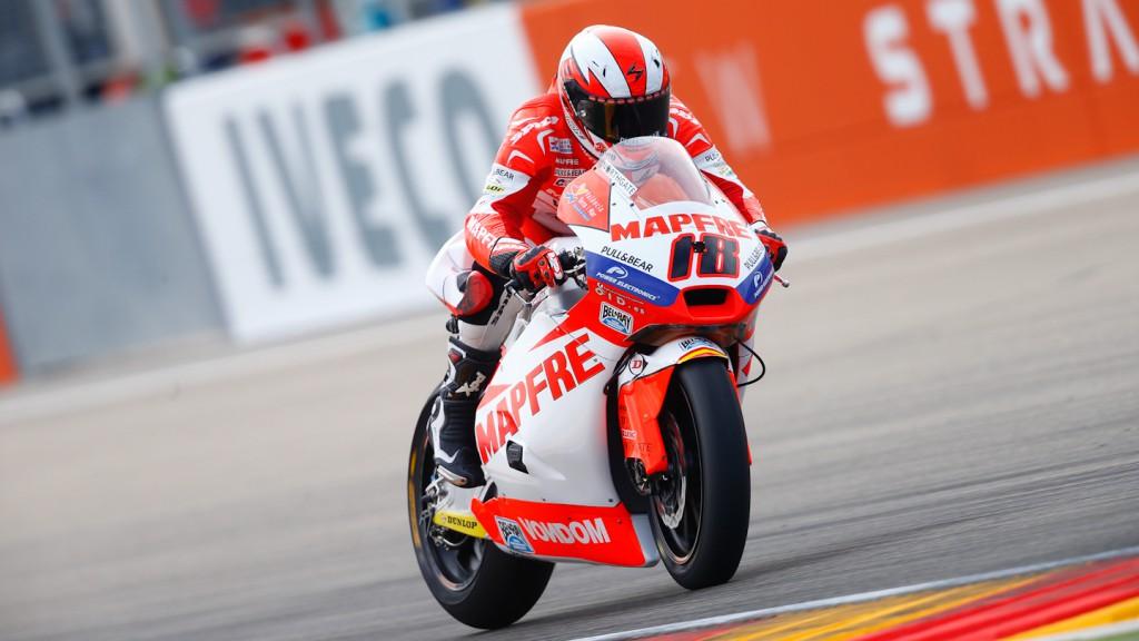 Nico Terol, Aspar Team Moto2, Aragón QP