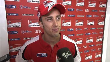 Dovizioso expecting all to use harder front