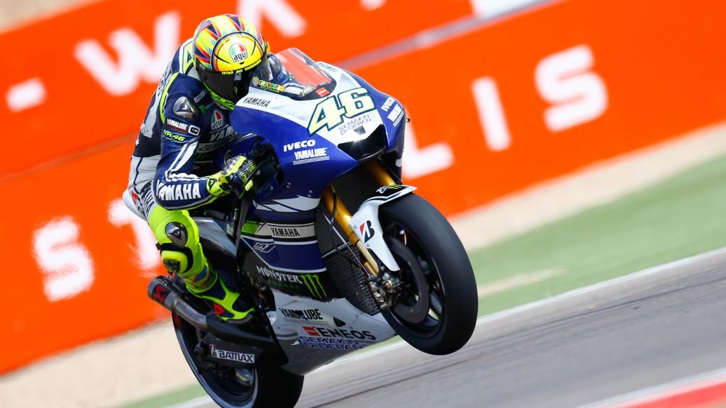 Valentino Rossi, Yamaha Factory Racing, Aragón FP3