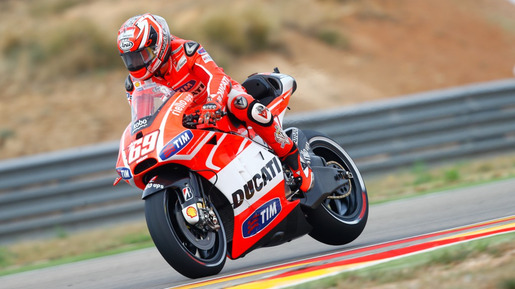 Nicky Hayden, Ducati Team, Aragón FP3
