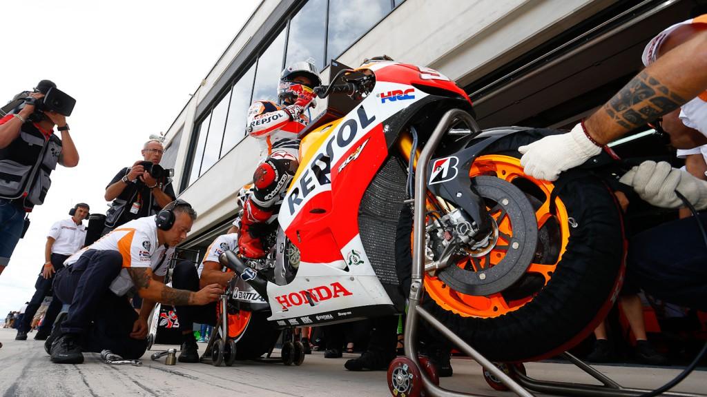 Marc Marquez, Repsol Honda Team, Aragón Q1