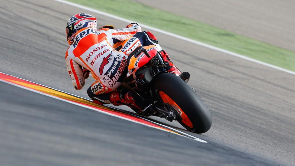 Marc Marquez, Repsol Honda Team, Aragón Q2