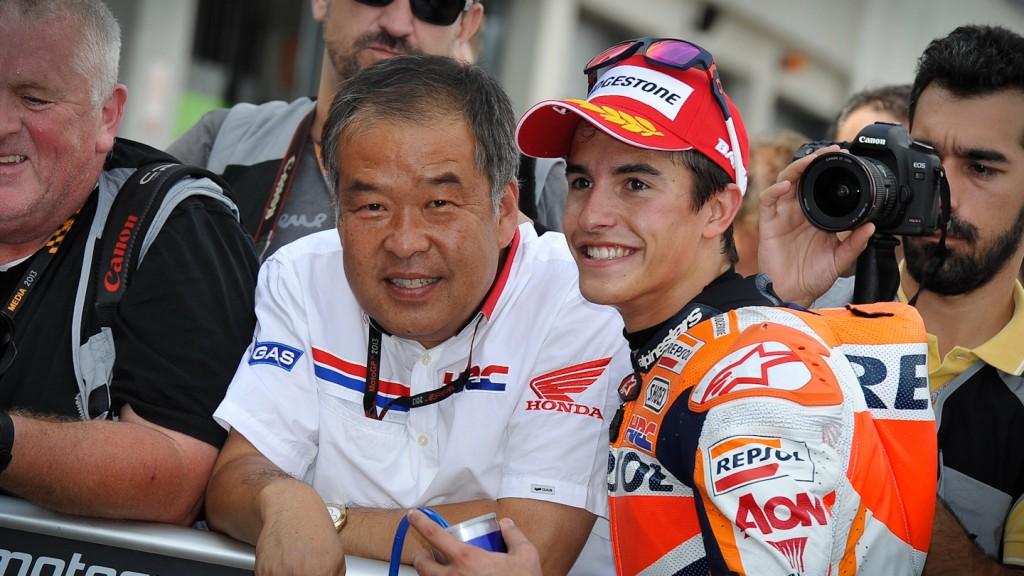 Shuhei Nakamoto, Marc Marquez, Repsol Honda Team, Aragón Q2