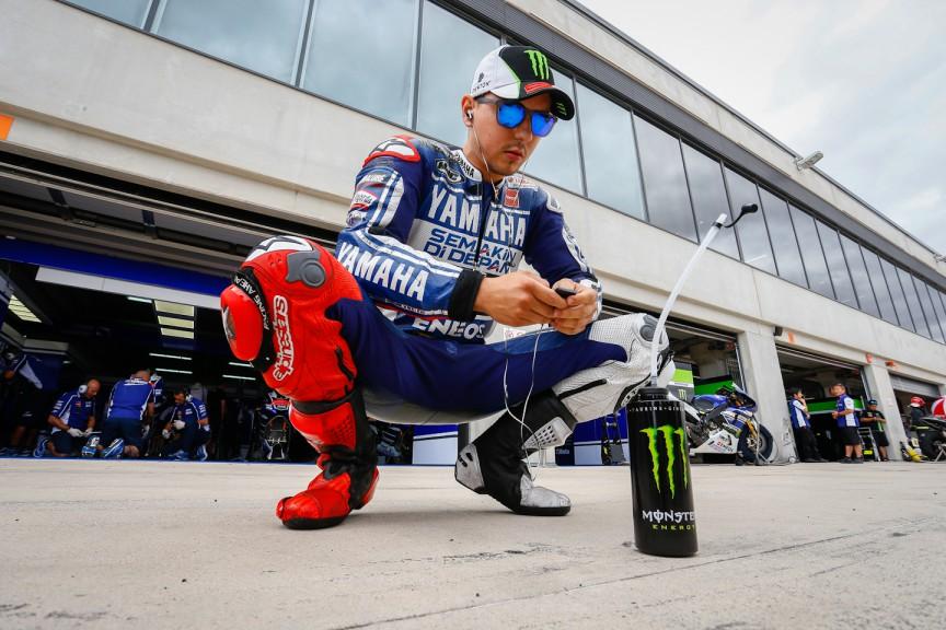 Jorge Lorenzo, Yamaha Factory Racing, Aragón FP4