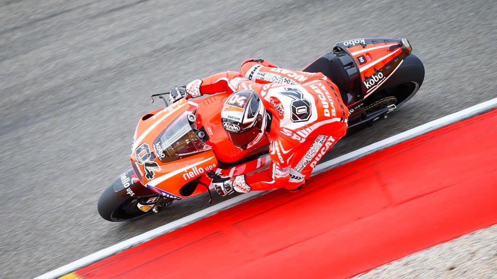 Andrea Dovizioso, Ducati Team, Aragón RAC